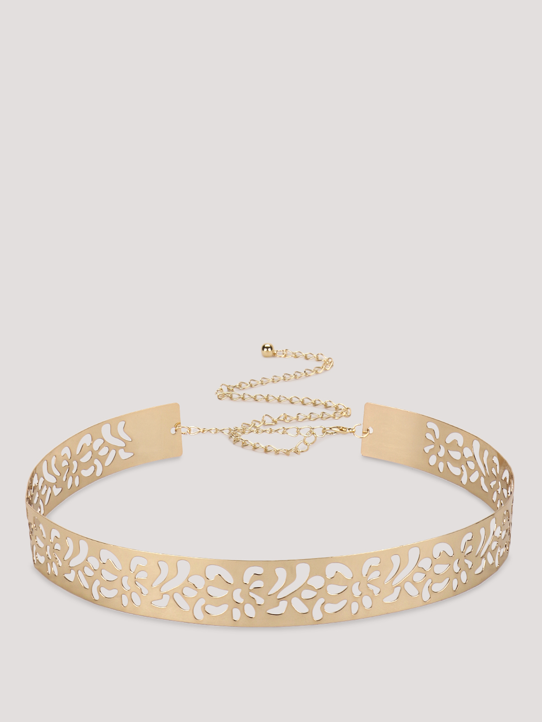 Style Fiesta Gold Statement Belt 1