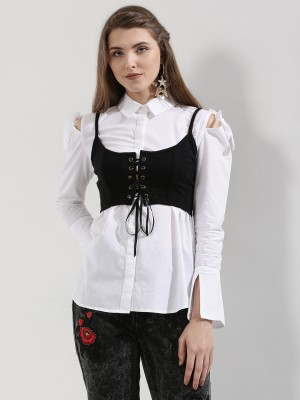 NOBLE FAITH Shirt With Corset ...