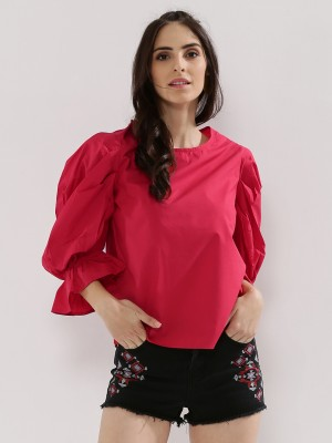 RENA LOVE Volume Sleeve Top...