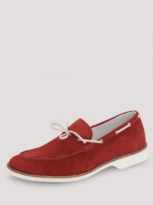 TREAD Loafers With False Lace ...