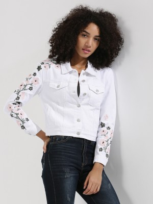URBAN BLISS Embroidered Denim ...