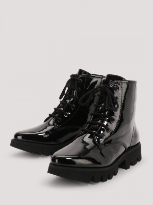 KOOVS Lace Up Boots...