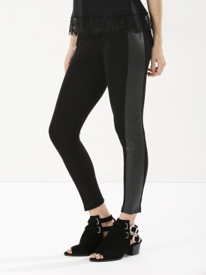 KOOVS Striped Leggings...