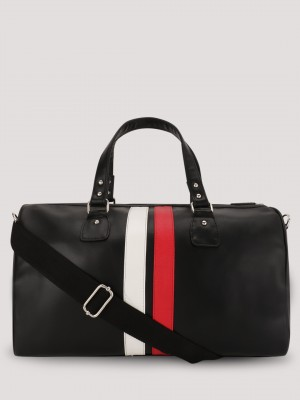 RIVET Duffle Bag With Contrast...