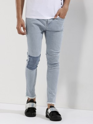 X.O.Y.O Frayed Hem Jeans With ...
