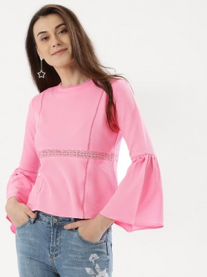 KOOVS Lace Detail Top...