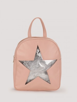 PARIS BELLE Star Cutout Backpa...