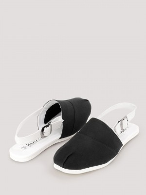 KOOVS Sandals With Slingback S...