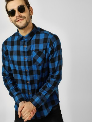 BRAVE SOUL Check Shirt With Po...