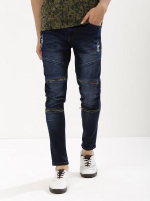 K DENIM Skinny Jeans With Twin...