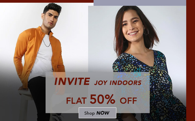 Invite Joy Indoors Flat 50% Off