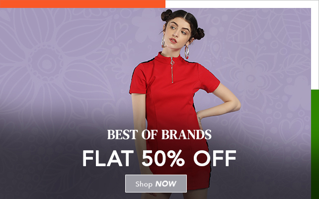 Best Of Brands  FLAT 50% Off